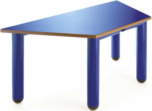 Mesa Nesta trapecio 120x60 cm talla 2