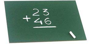 Pizarrín sin marco 25×36 cm