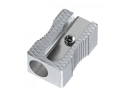 Sacapuntas metal 1 uso rectangular económico