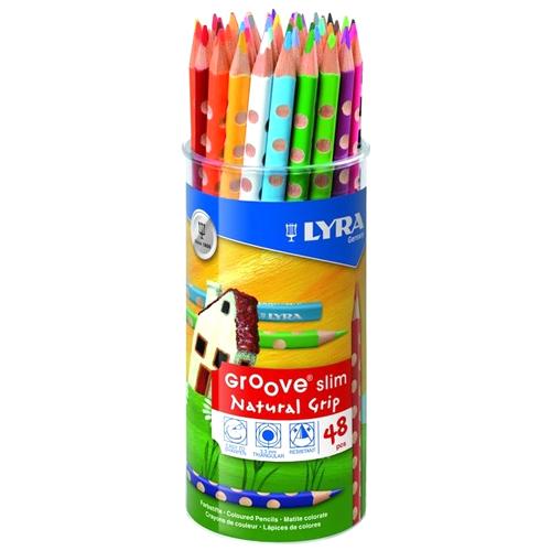 Lapiceros de colores Groove Slim 48 unidades detalle 1