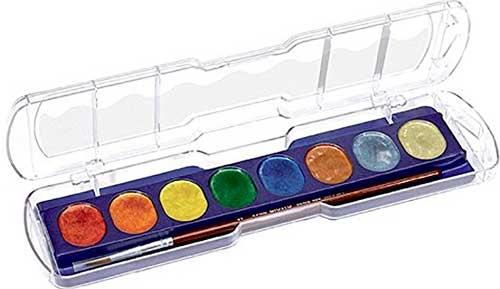 Acuarelas metallic 8 colores
