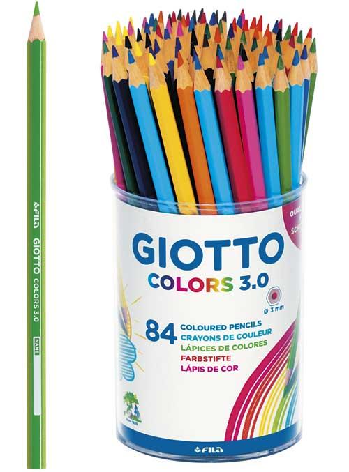 Lápices Colors 3.0 bote 84 ud