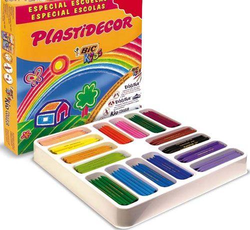 Ceras Plastidecor 352 ud 16 colores