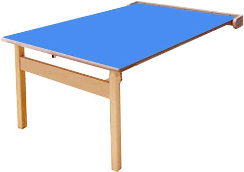 Mesa abatible Lux 2 caras 120x70 cm Talla 3