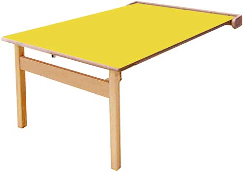 Mesa abatible Lux 1 cara 120 x 70 cm Talla 6