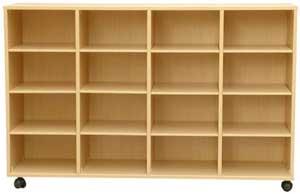 Mueble casillero 16 casillas