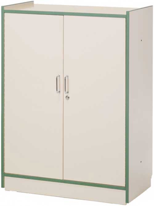 Armario 2 puertas batientes 111,5x83x40 cm