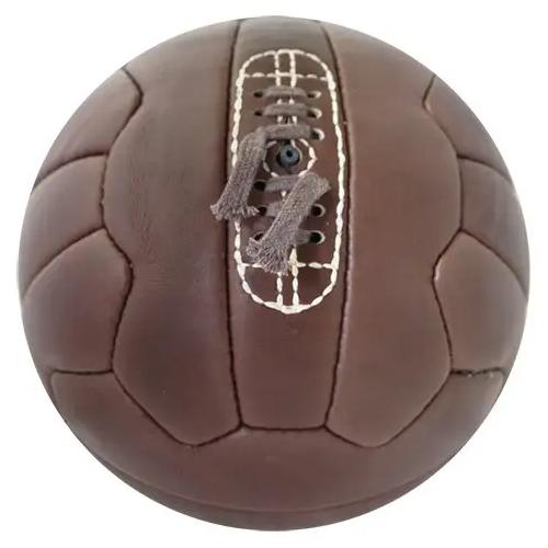 Balón fútbol 11 vintage detalle 1