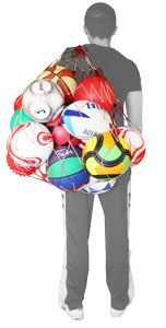 Red portabalones 20 balones