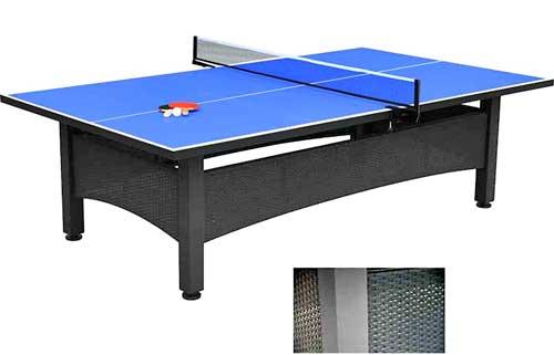 Mesa de ping-pong exterior jardín