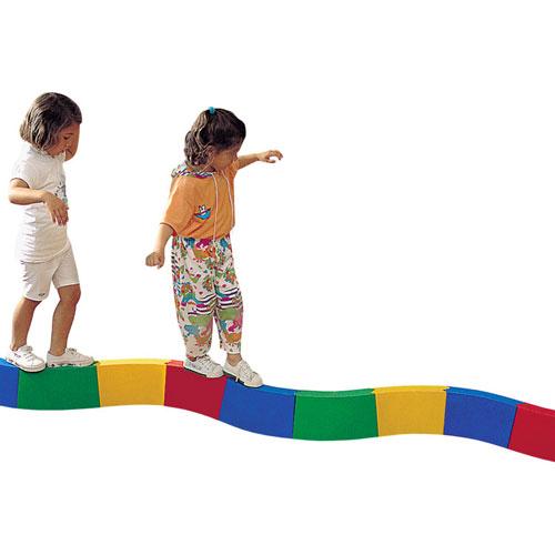 Camino de equilibrio curvo 3 m detalle 1
