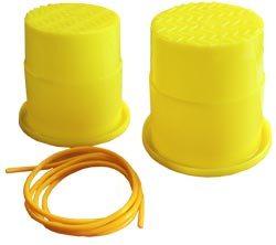Zancos plástico básicos, alzas