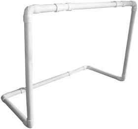 Portería PVC 100x65x45 cm