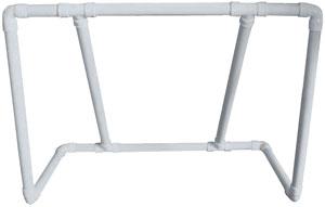 Portería multiusos PVC reforzada