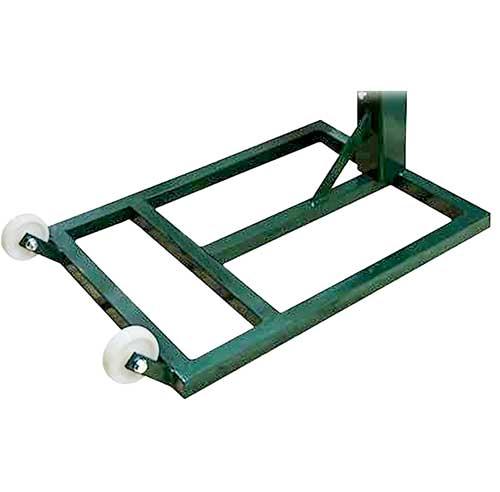Postes trasladables metal cuadrados 2 ud detalle 2
