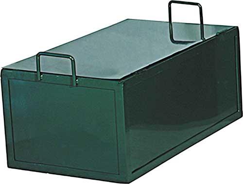 Postes trasladables metal cuadrados 2 ud detalle 4