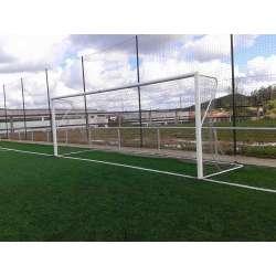 Juego bases porterías fútbol 7 para recogida red