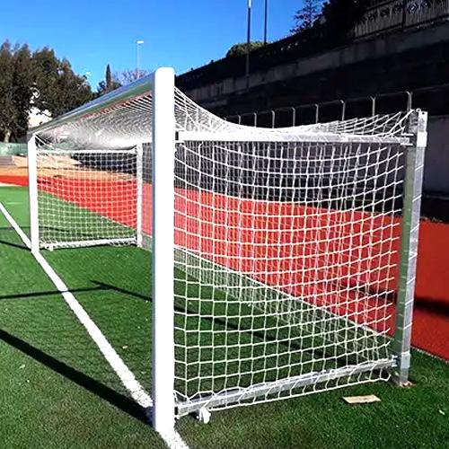 Porterías de aluminio futbol 7 abatible galvanizado