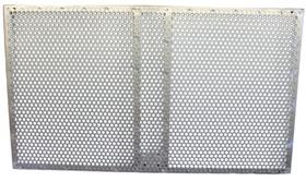 Tableros antivandálicos zincados (2 ud)