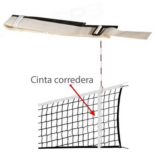 Bandas correderas voleibol 2 ud