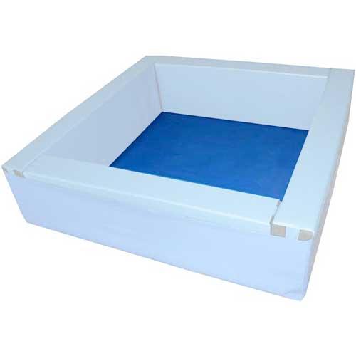 Suelo de lona para piscina cuadrada 150 x 150 cm detalle 2