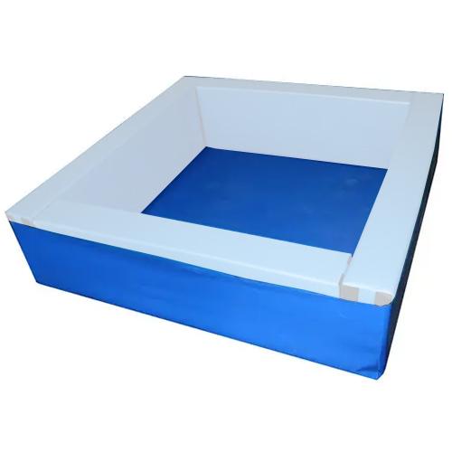 Suelo de lona para piscina cuadrada 150x150 cm
