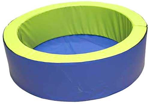 Suelo de lona PVC para piscina redonda 150 cm