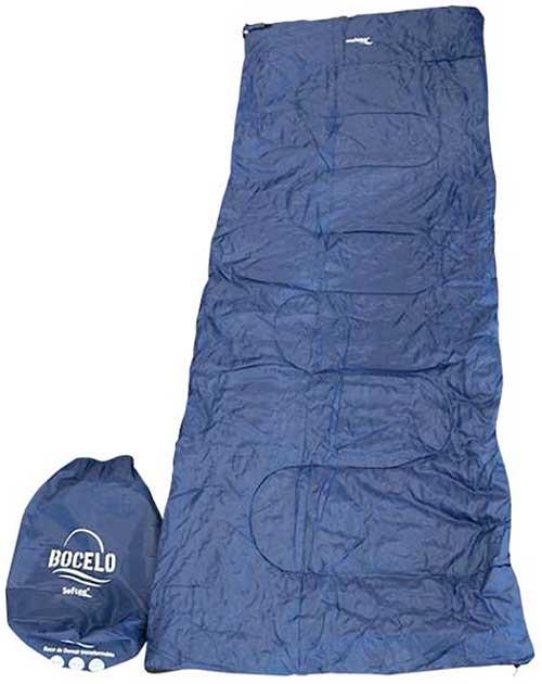 Saco de dormir transformable Bocelo azul