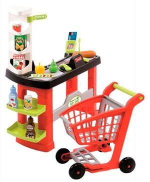 Supermercado y carrito