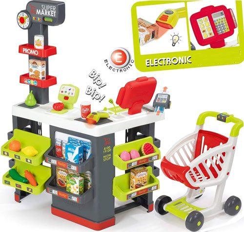 Supermercado grande completo detalle 1