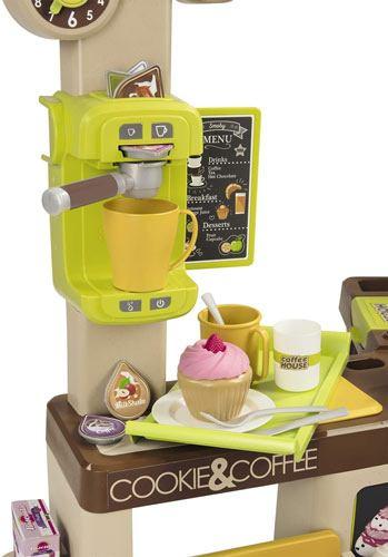 Tienda cafetería con luz y sonido detalle 3