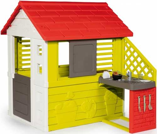 Casa natural con barbacoa detalle 2