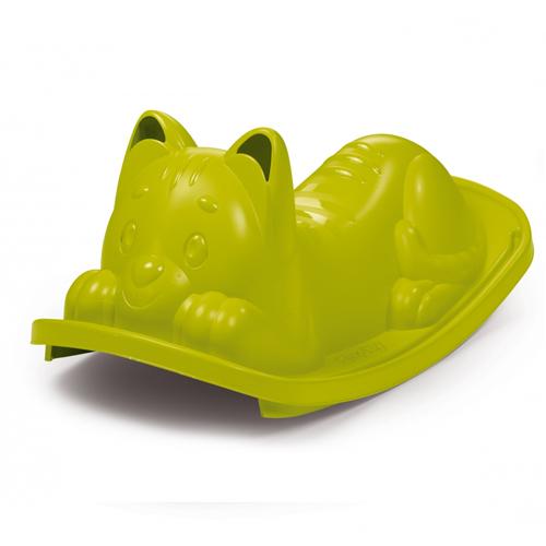 Balancín gato verde