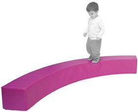 Barra de equilibrio curva