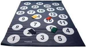 Diana números en suelo