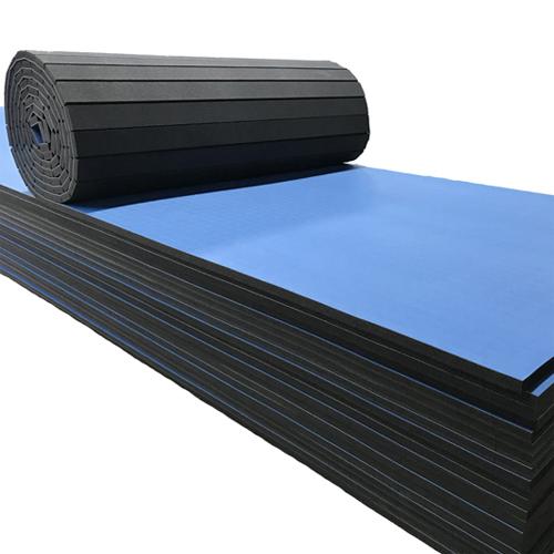 Rollo Foam plegable 1200 x 180 x 3,5 cm azul detalle 2