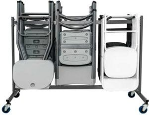 Carro porta-sillas LIMT detalle 1