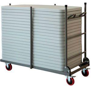 Carro porta-mesas LTROLL (20 mesas)