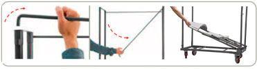 Carro Transporte silla Nermond detalle 2