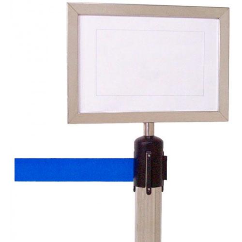 Cartel informativo para postes separadores