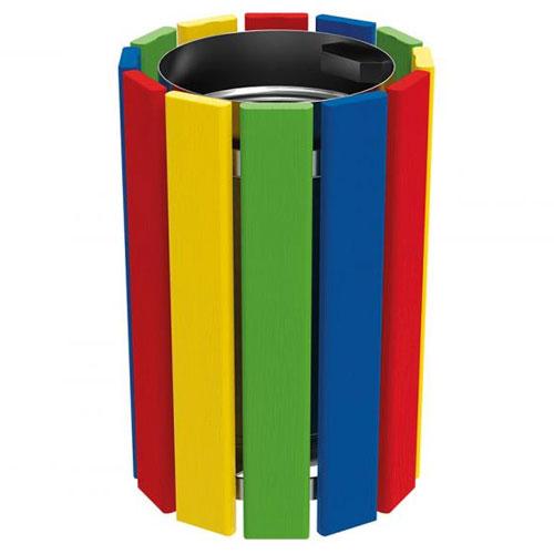 Papelera Infantil Clin Multicolor 40 litros