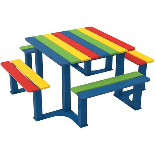 Mesa Pic-Nic Adrada Multicolor Junior