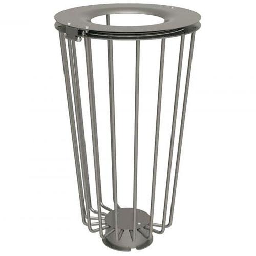 Papelera Loft Eco Acero 100 litros