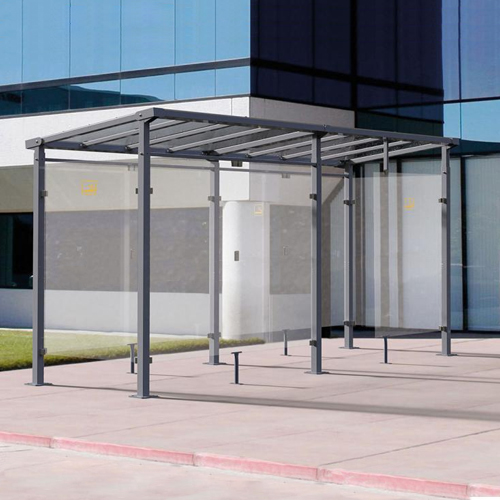 Refugio de fumadores Monza 500 cm