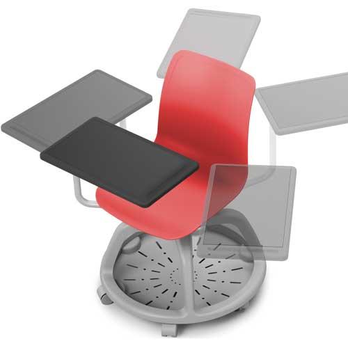 Silla Verso con ruedas y pala