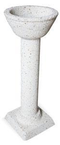 Fuente Pompeya hormigón