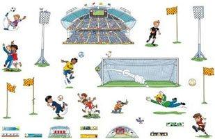 Pegatinas gigantes fútbol detalle 3