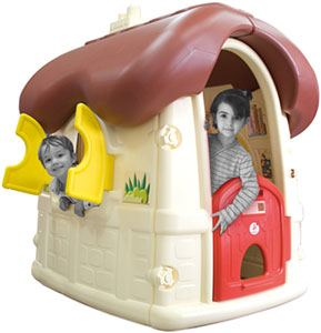 Casita de chocolate