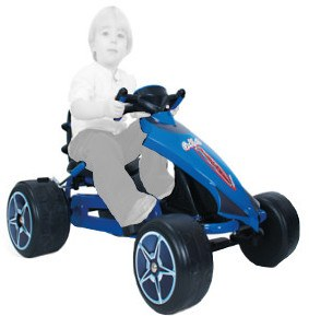 Go-kart glecha blue