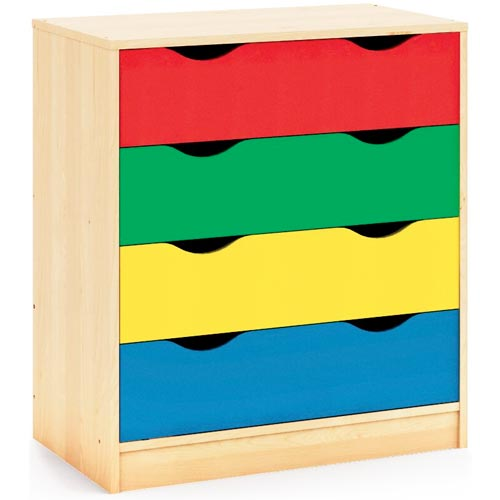 Mueble Maxicolor 4 cajones 88 x 80 x 48 cm